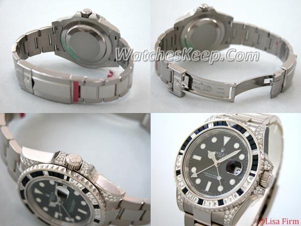 Rolex GMT-Master 116759 Black Dial Watch