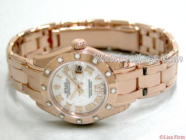 Rolex Masterpiece 80315 Ladies Watch