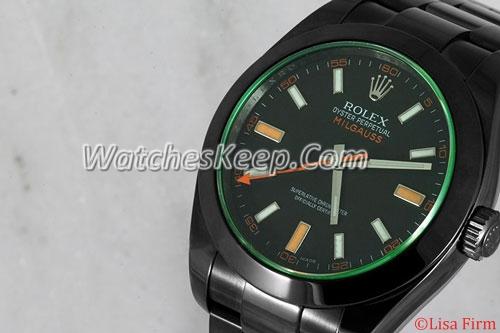 Rolex Milgauss 116400GV Black Dial Watch