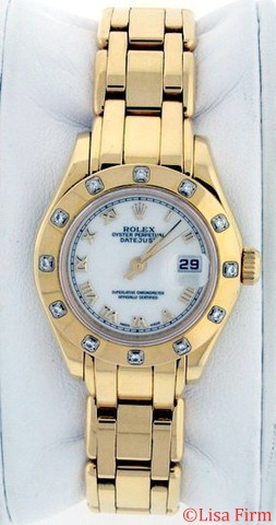 Rolex President 80318 Ladies Watch