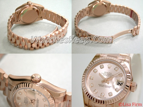 Rolex President Ladies 179175 White Dial Watch