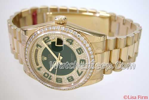 Rolex President Midsize 118348 Mens Watch