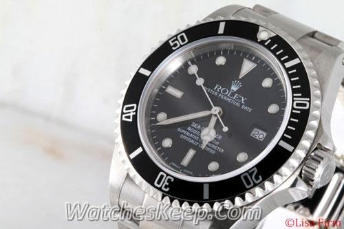 Rolex Sea Dweller 16600 Black Dial Watch
