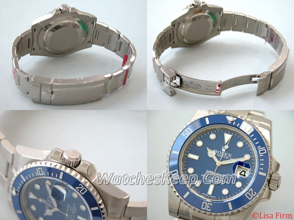 Rolex Submariner 116619GLB Mens Watch