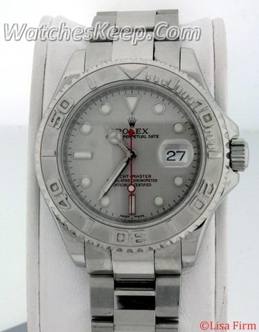 Rolex Yachtmaster 16622 Beige Band Watch