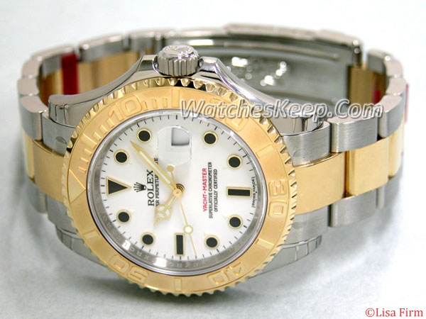Rolex Yachtmaster 16623WSO Mens Watch
