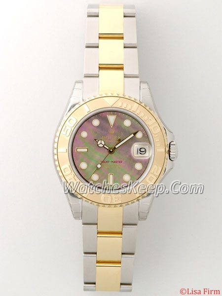Rolex Yachtmaster 168623 Black Dial Watch