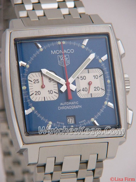 Tag Heuer Monaco CW2113.BA0780 Mens Watch