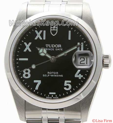 Tudor Glamour Date-Day Lady TD74000BKY Mens Watch