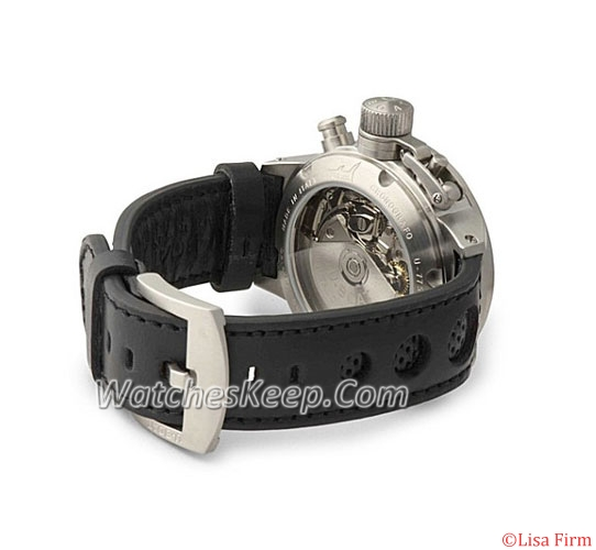 U-Boat Flightdeck 43-CAS-3 Automatic Watch
