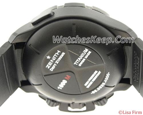 Zenith Defy Xtreme 96.0525.4000/21.R642 Mens Watch